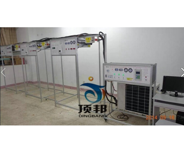 空调系统多联机(可变冷媒制冷剂流量系统)系统实训装置