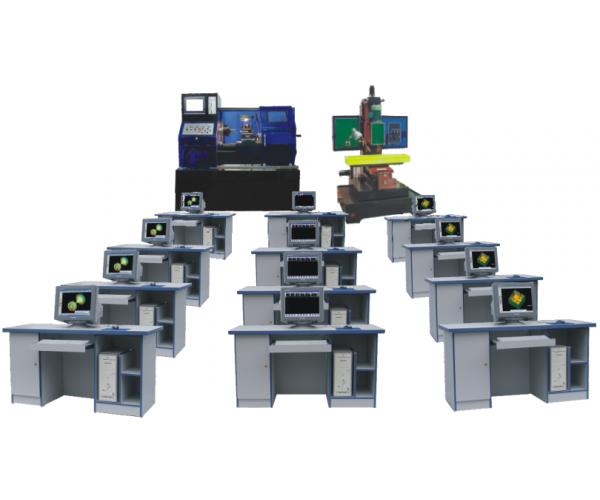 多媒体网络型数控机床机电一体化培训系统